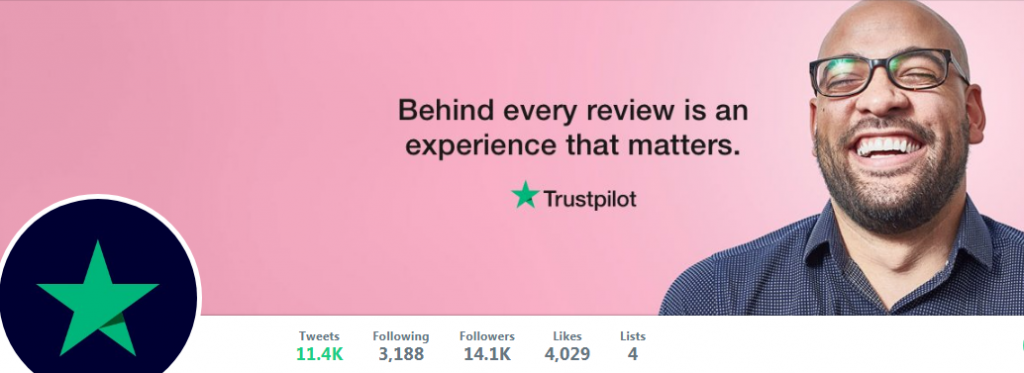 Trusted Pilot twitter account